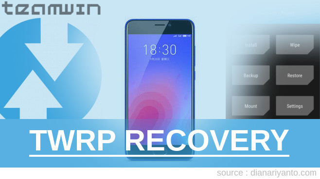 TWRP Recovery Meizu M6 Tanpa Komputer